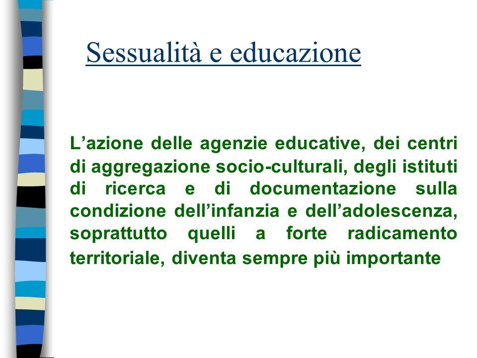 Sessualità e educazione