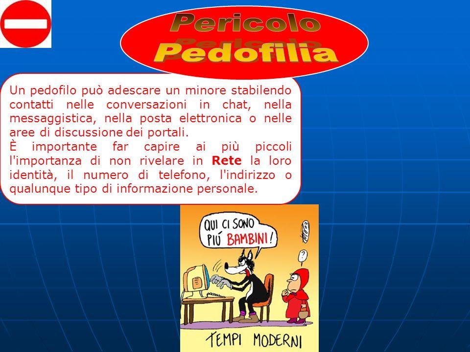 Pericolo Pedofilia.