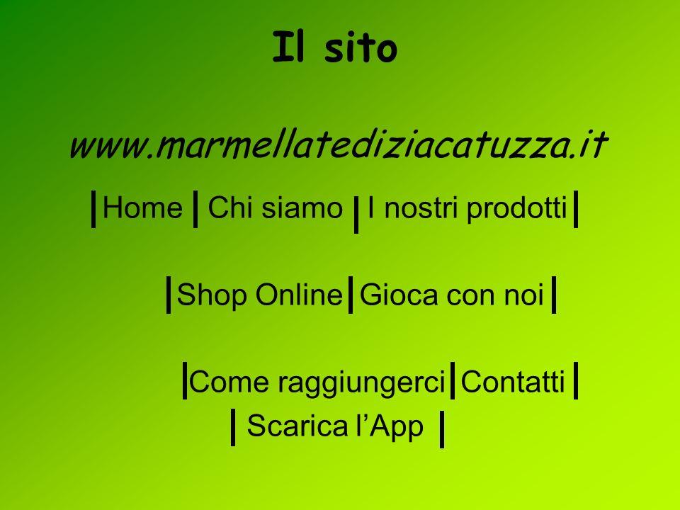 Il sito www.marmellatediziacatuzza.it