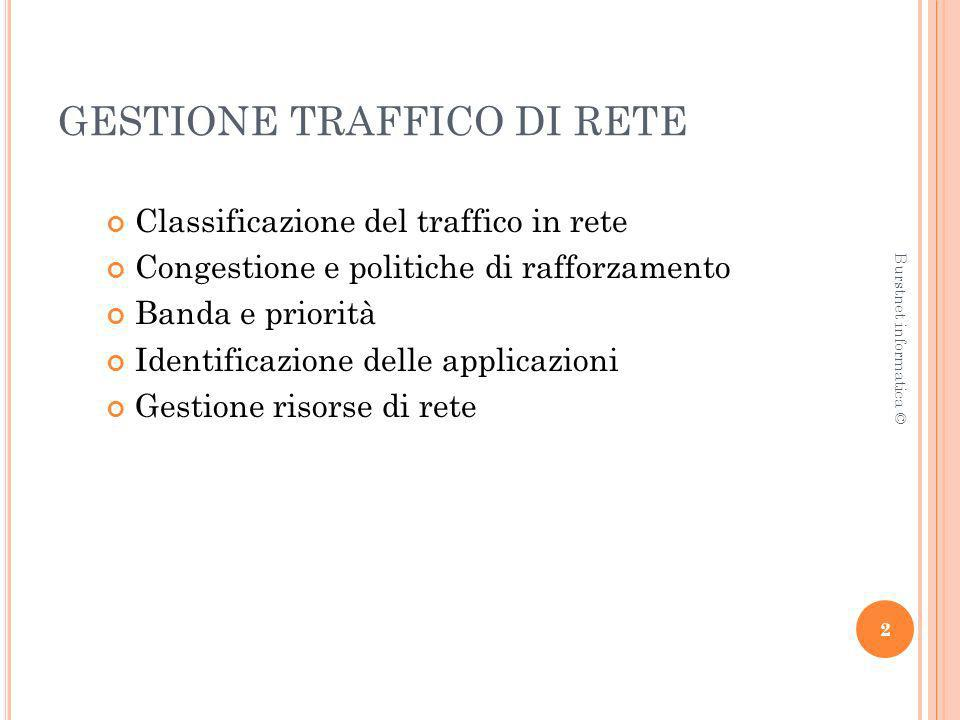 GESTIONE TRAFFICO DI RETE