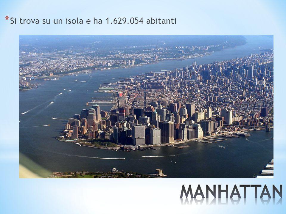 Si trova su un isola e ha 1.629.054 abitanti