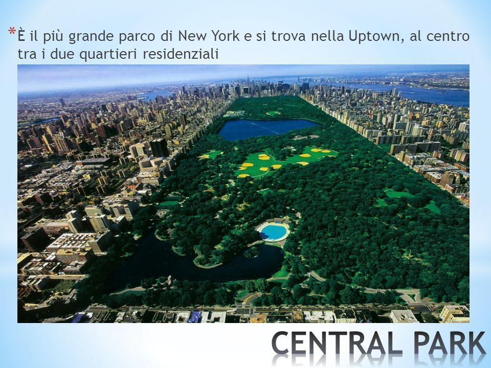È il più grande parco di New York e si trova nella Uptown, al centro tra i due quartieri residenziali