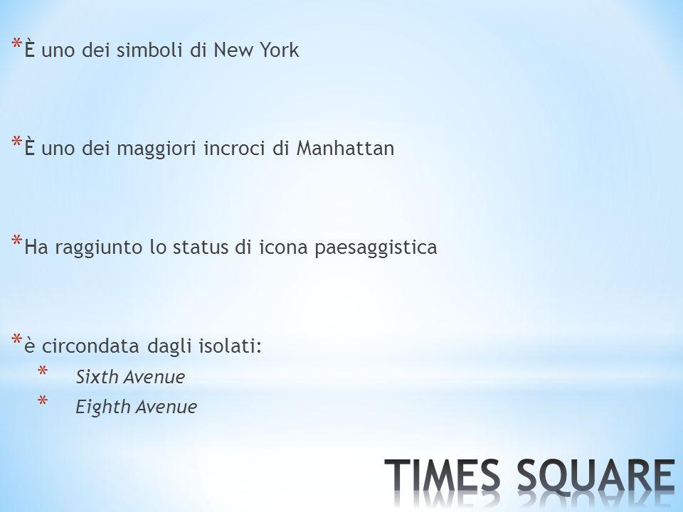 TIMES SQUARE È uno dei simboli di New York