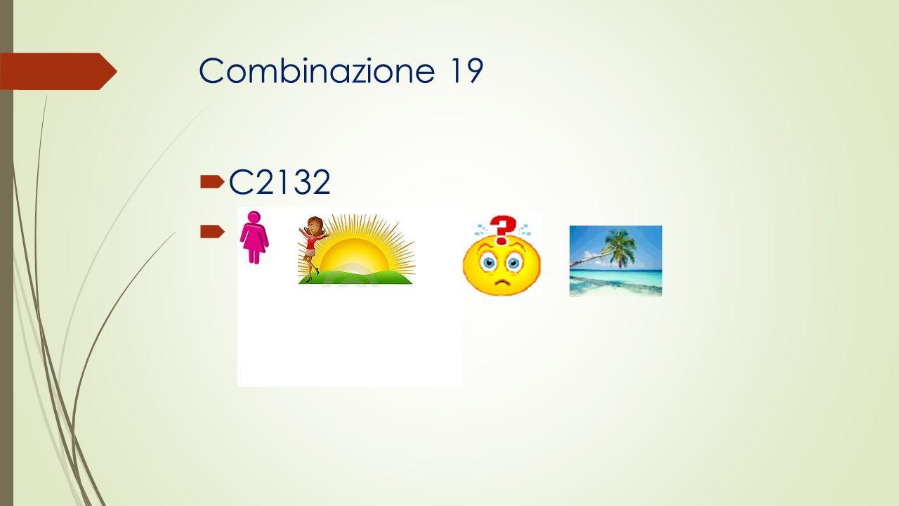 Combinazione 19 C2132