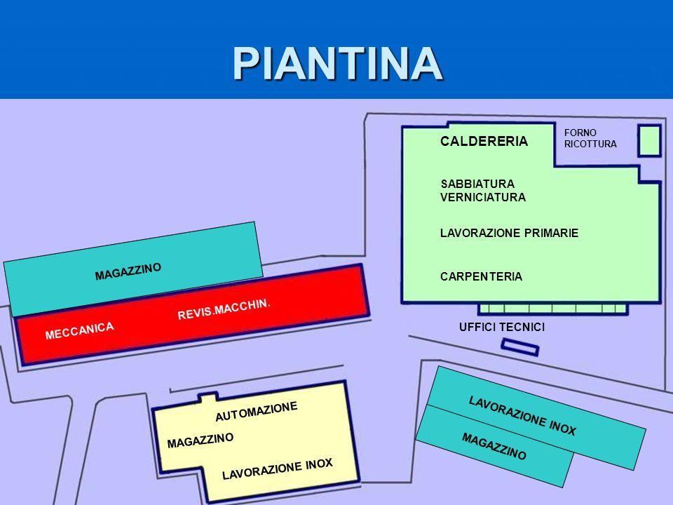 PIANTINA CALDERERIA SABBIATURA VERNICIATURA LAVORAZIONE PRIMARIE