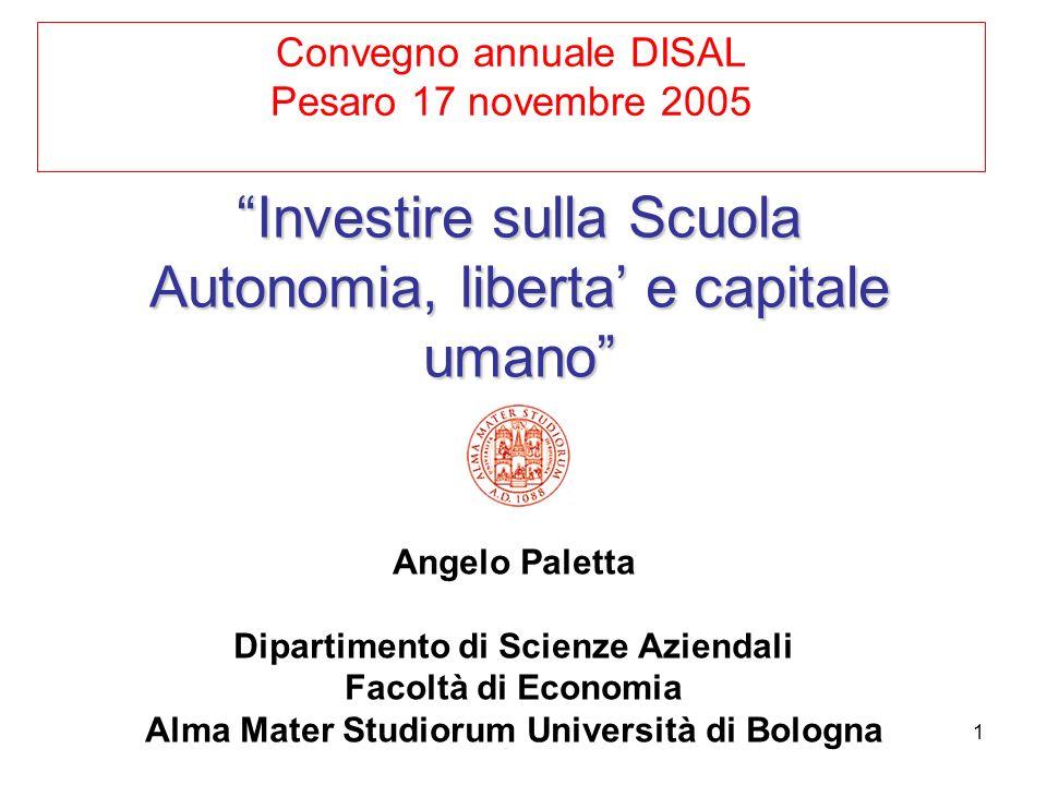 Convegno annuale DISAL Pesaro 17 novembre 2005