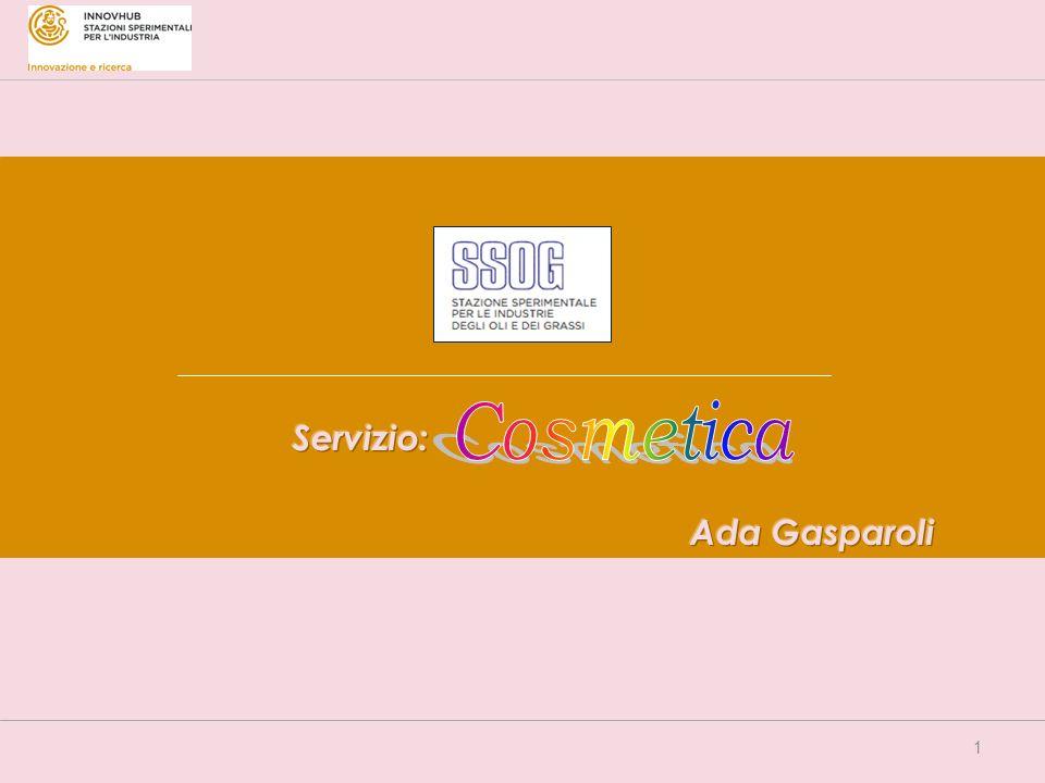 Servizio: Cosmetica Ada Gasparoli
