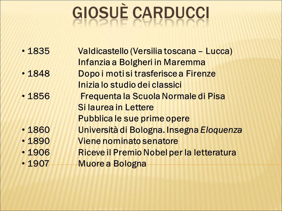 1835 Valdicastello (Versilia toscana – Lucca)