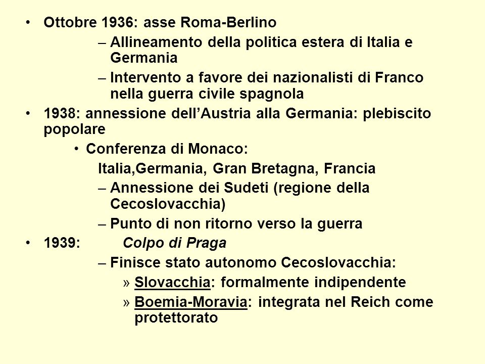 Ottobre 1936: asse Roma-Berlino