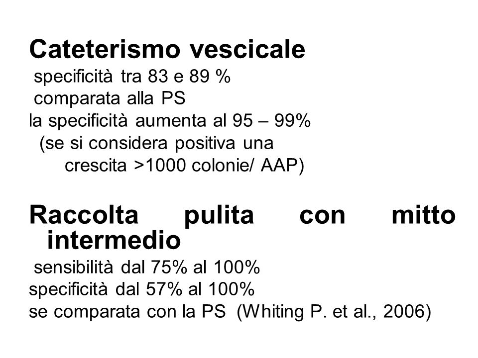 Cateterismo vescicale