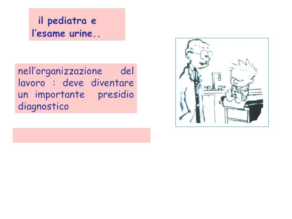 il pediatra e l'esame urine..