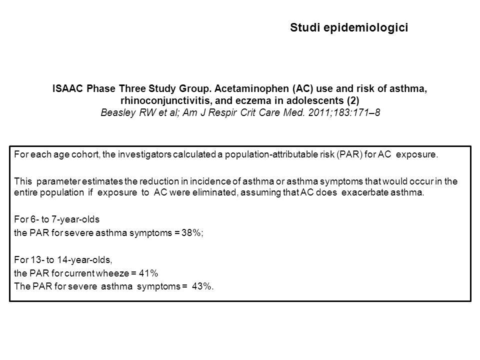 Studi epidemiologici