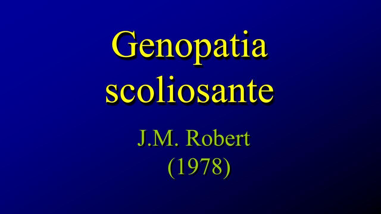 Genopatia scoliosante