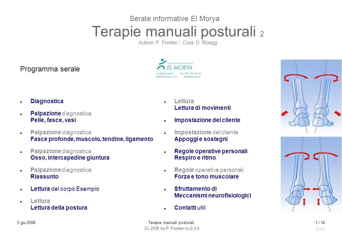 Terapie manuali posturali