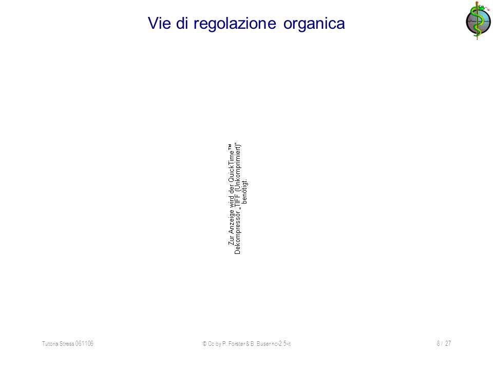 Vie di regolazione organica