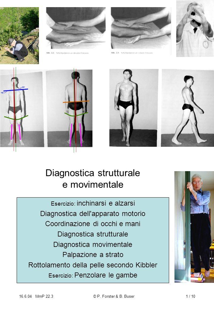 Diagnostica strutturale e movimentale