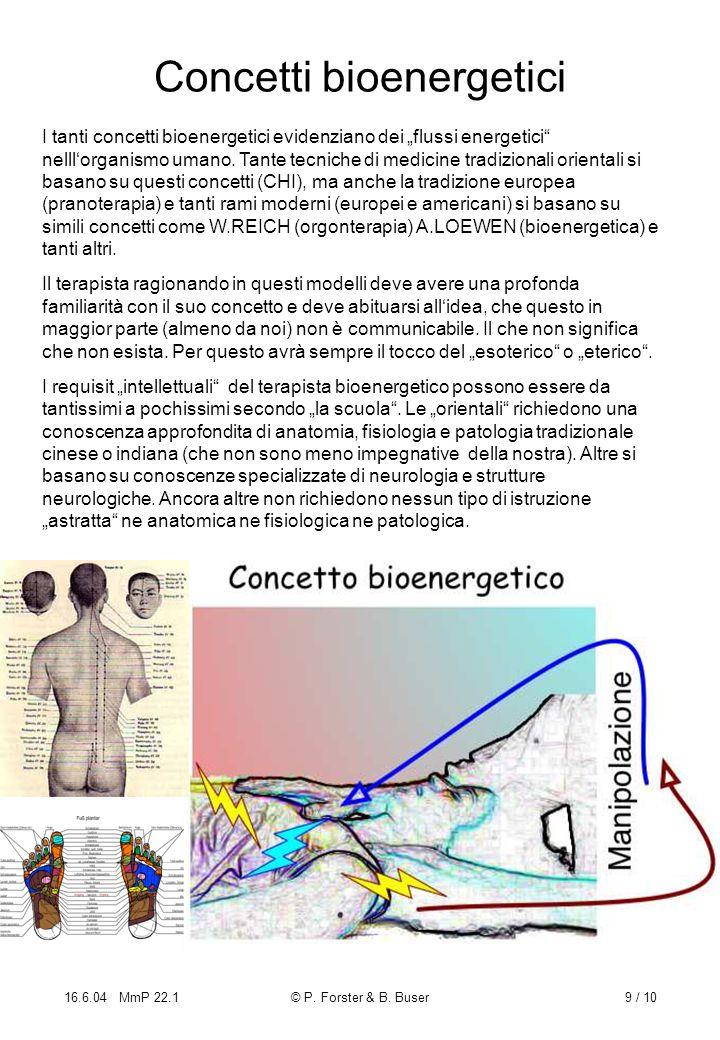 Concetti bioenergetici
