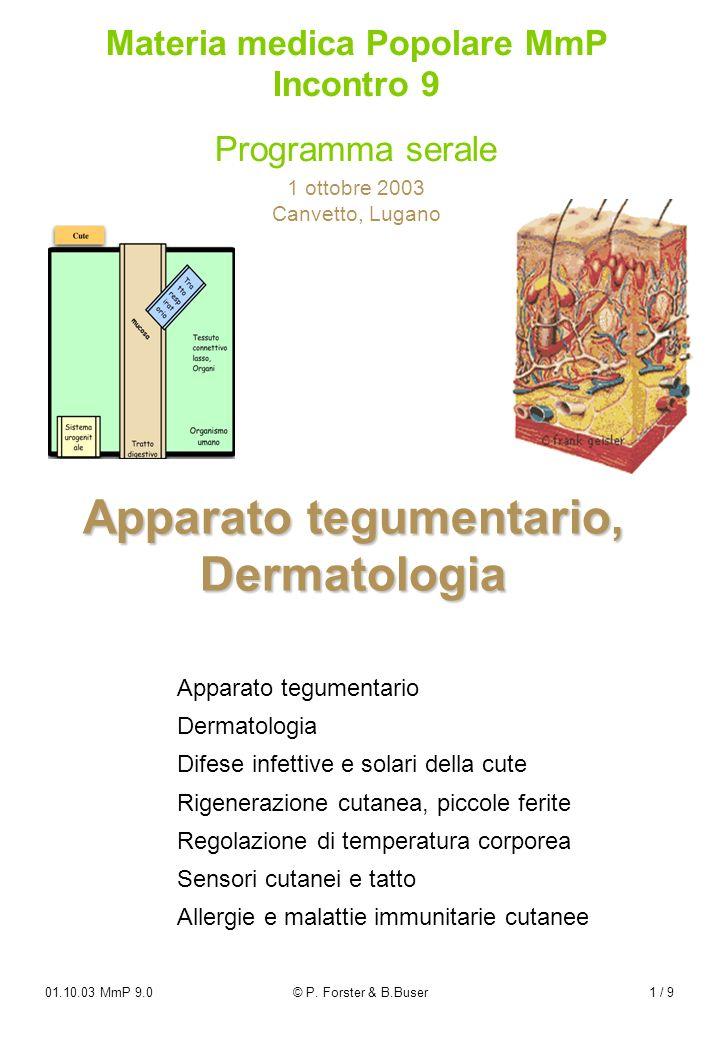 Apparato tegumentario, Dermatologia