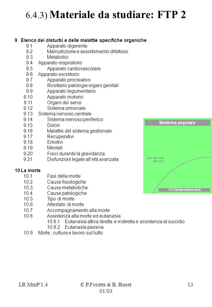 6.4.3) Materiale da studiare: FTP 2