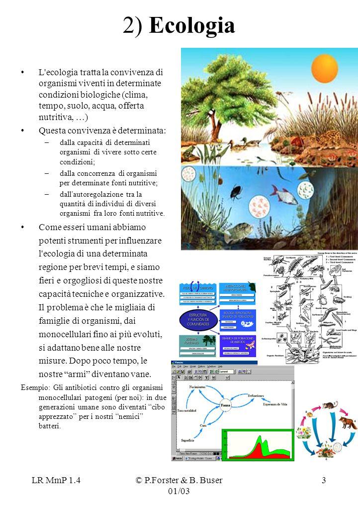 2) Ecologia