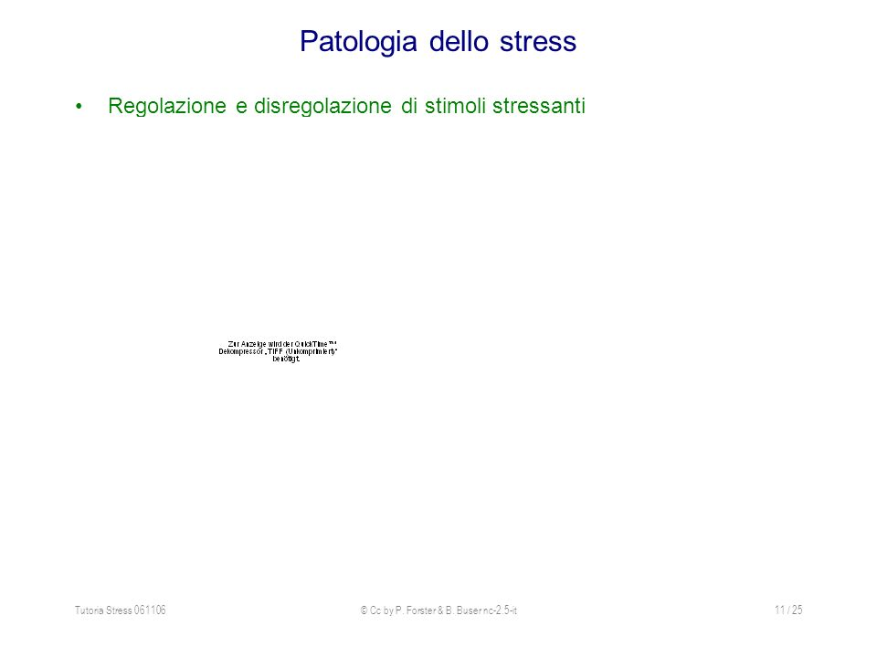 Patologia dello stress