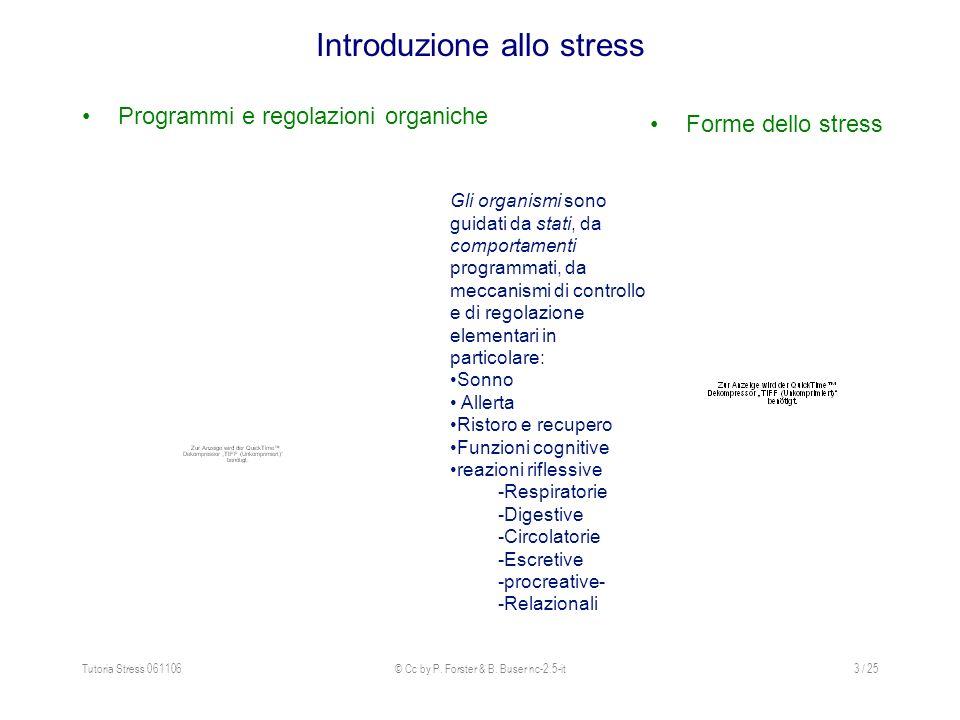 Introduzione allo stress