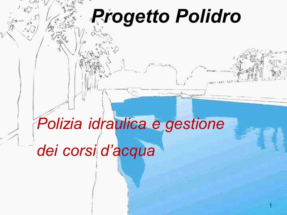 Progetto Polidro Polizia idraulica e gestione dei corsi d'acqua