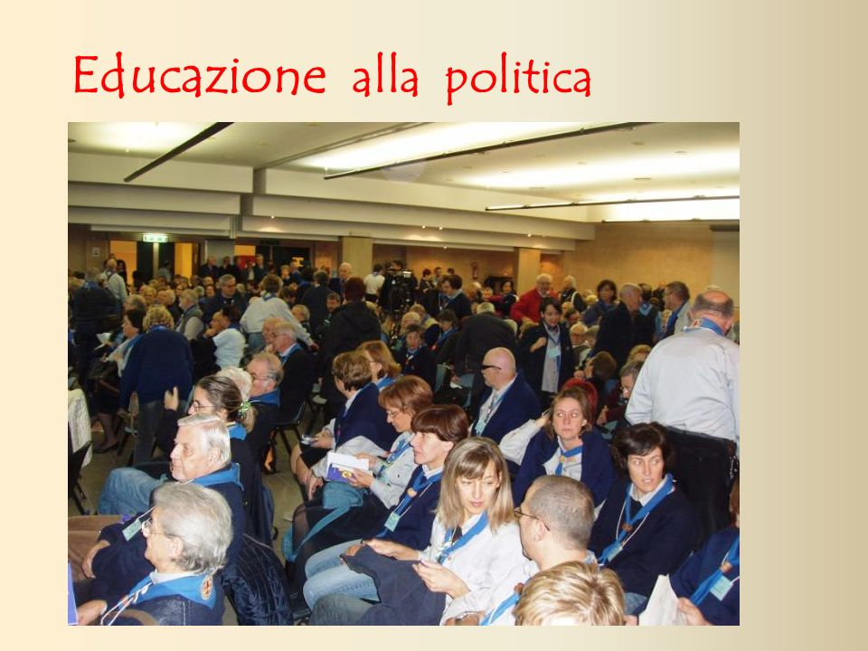Educazione alla politica
