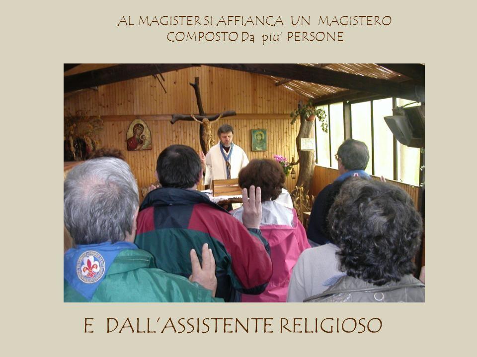 E DALL'ASSISTENTE RELIGIOSO