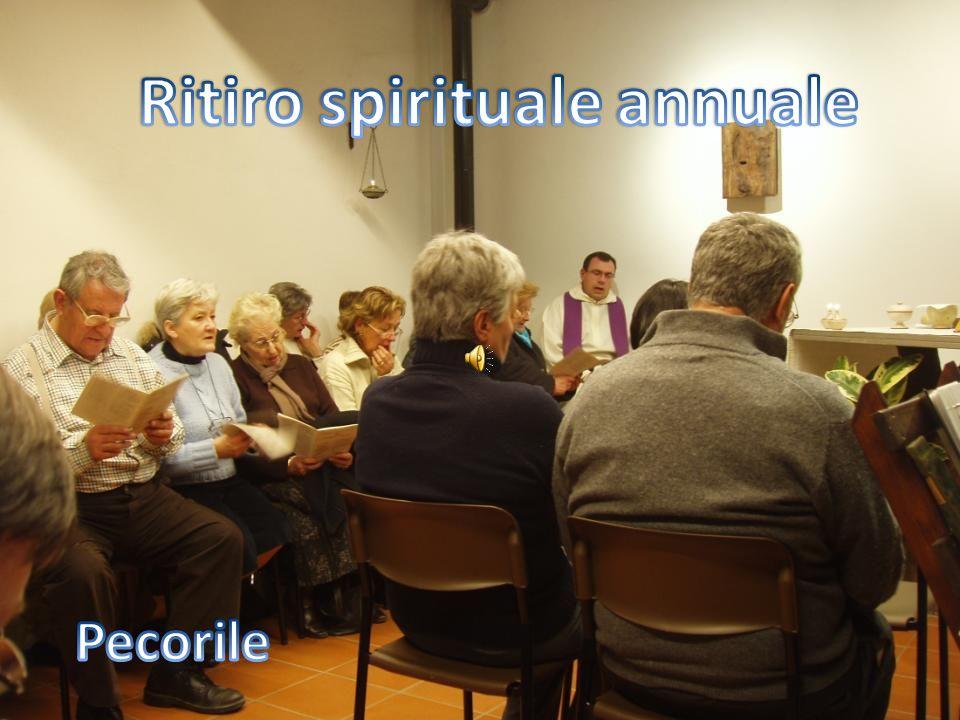 Ritiro spirituale annuale