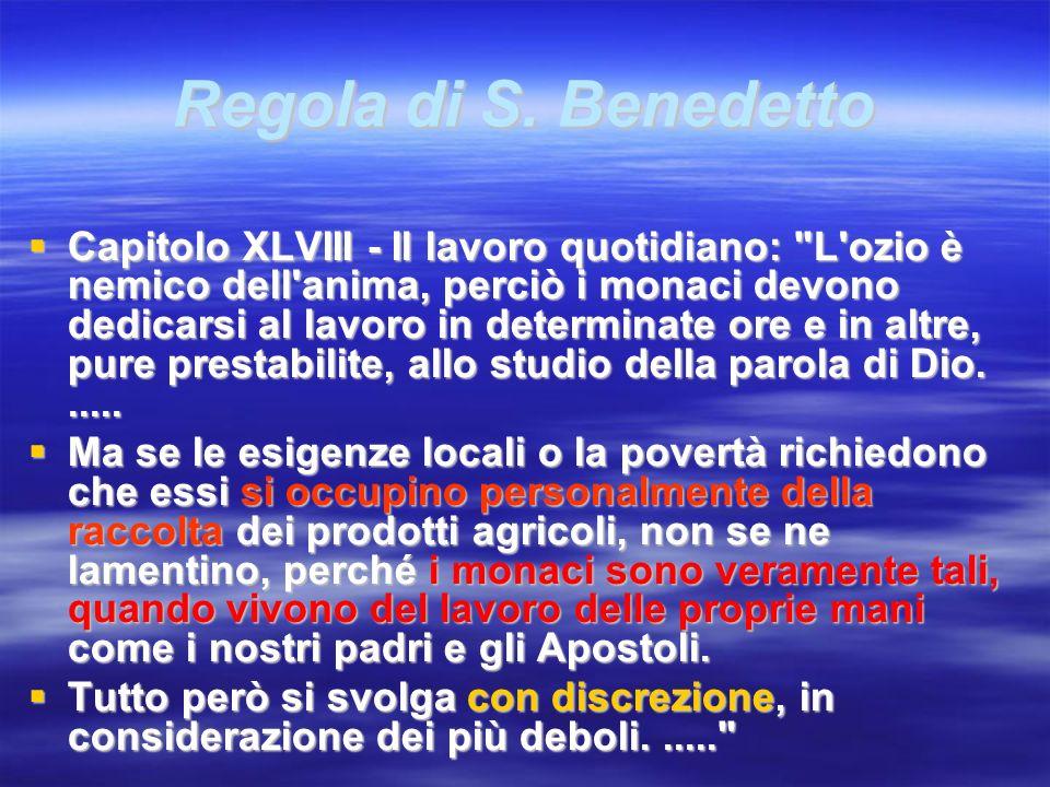Regola di S. Benedetto