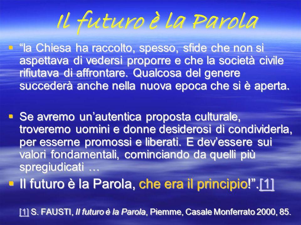 Il futuro è la Parola