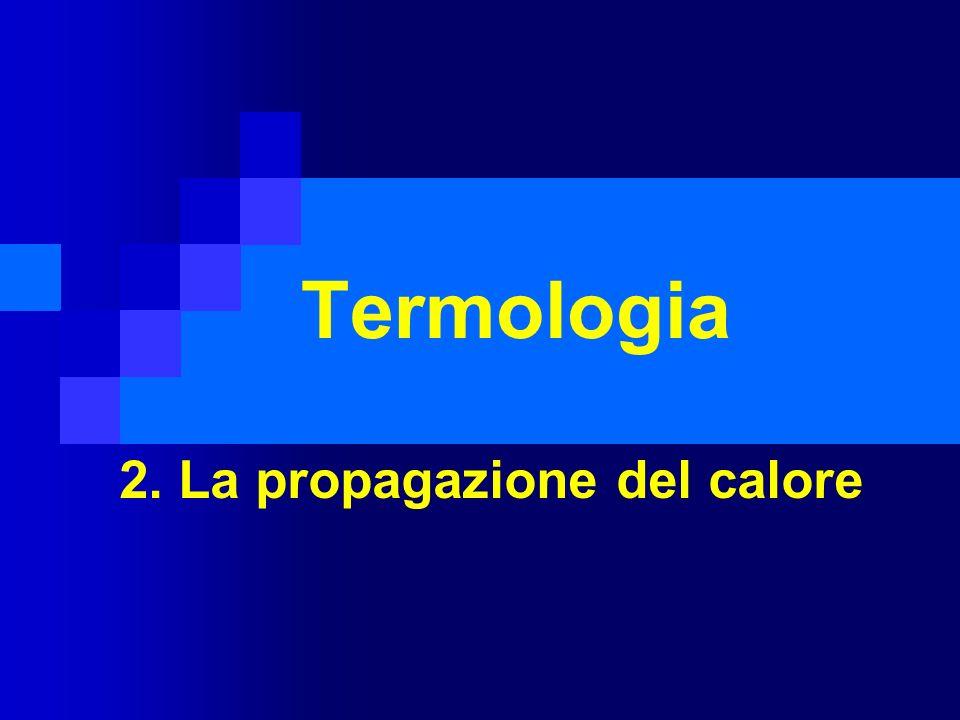 2. La propagazione del calore