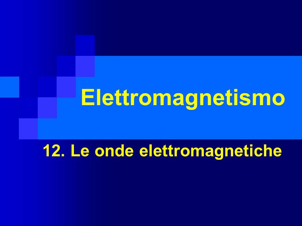 12. Le onde elettromagnetiche