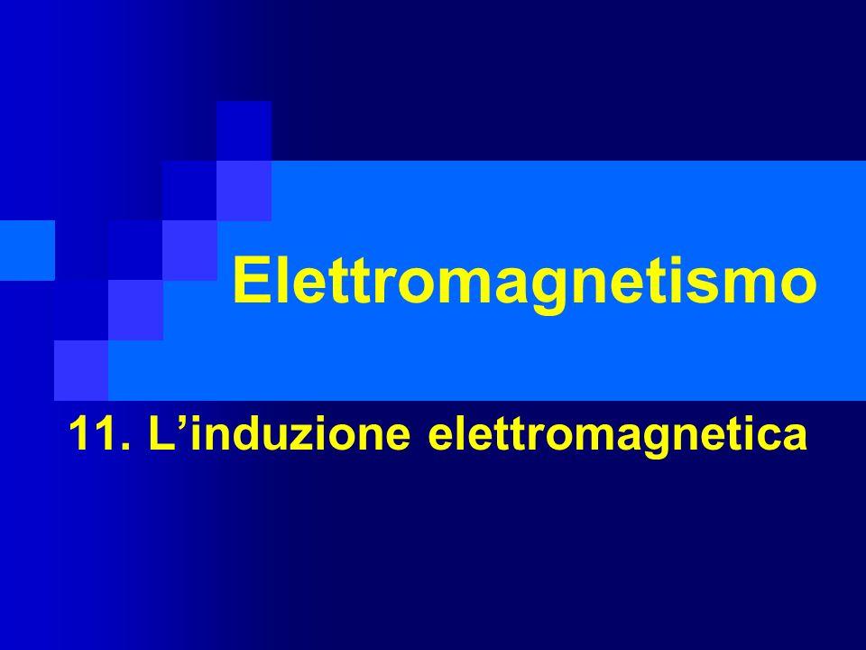 11. L'induzione elettromagnetica