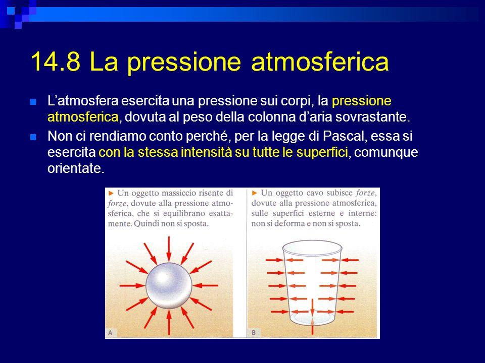 14.8 La pressione atmosferica