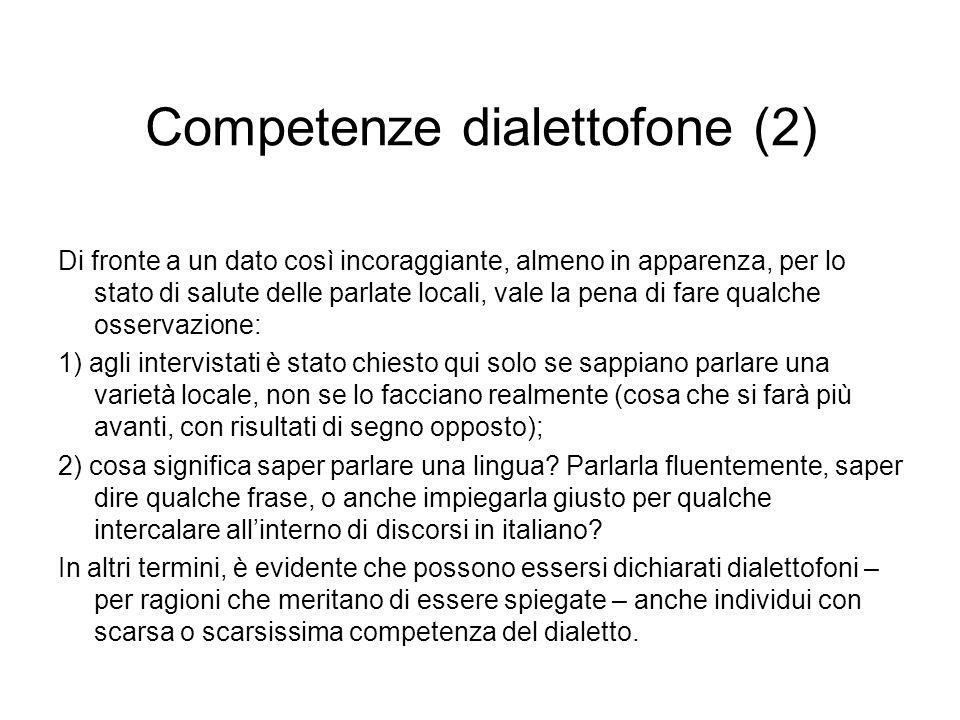 Competenze dialettofone (2)