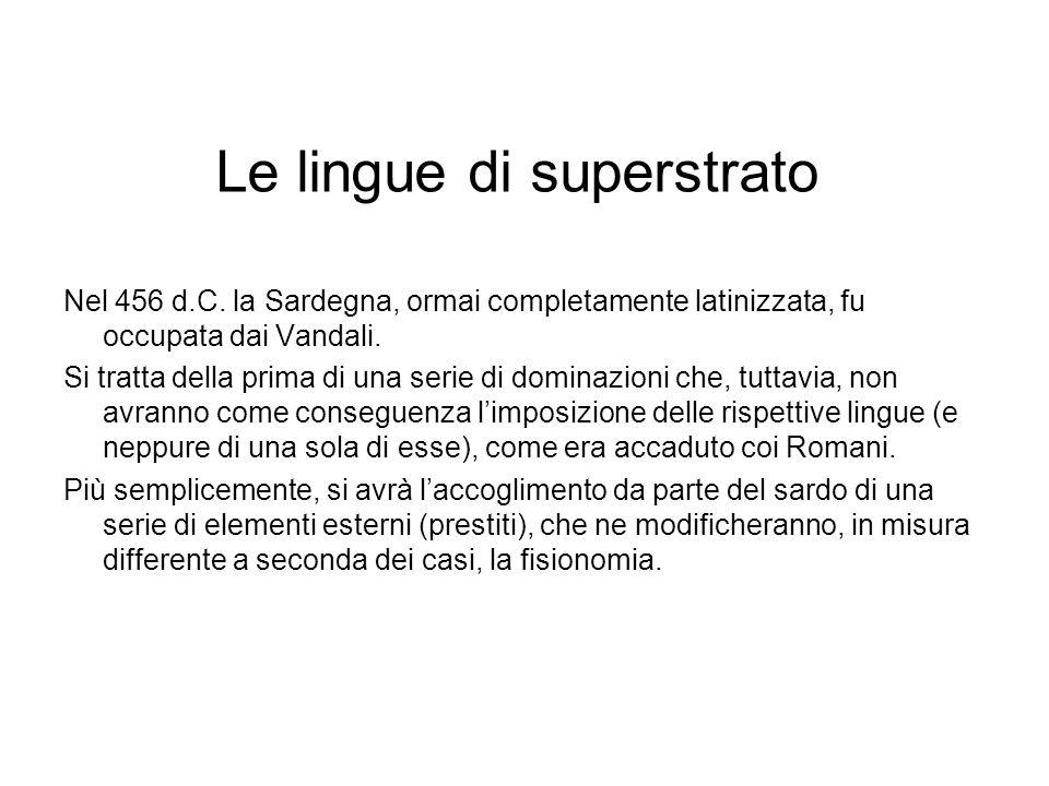 Le lingue di superstrato