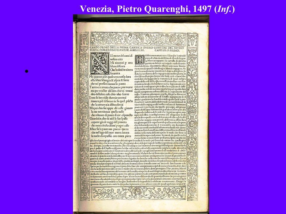 Venezia, Pietro Quarenghi, 1497 (Inf.)