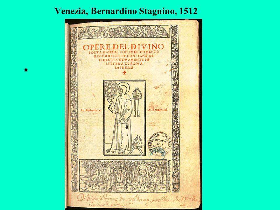 Venezia, Bernardino Stagnino, 1512
