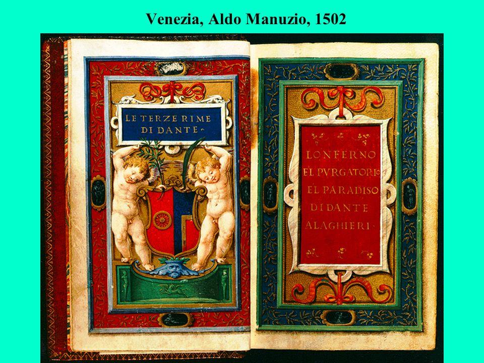 Venezia, Aldo Manuzio, 1502