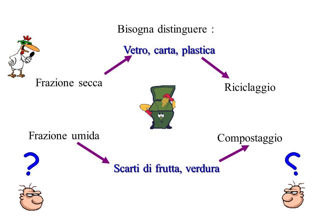 Scarti di frutta, verdura