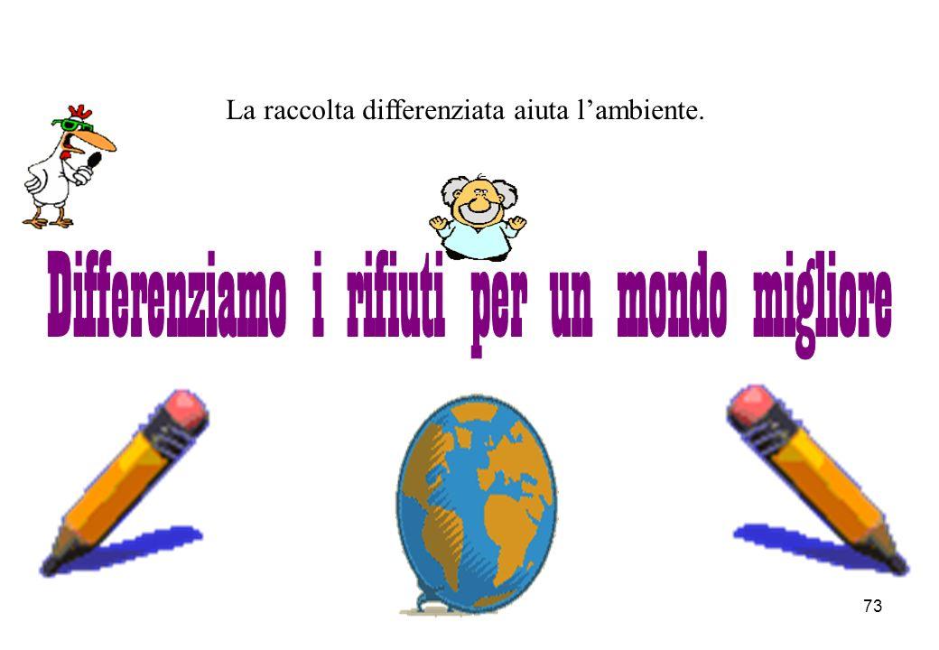 Differenziamo i rifiuti per un mondo migliore