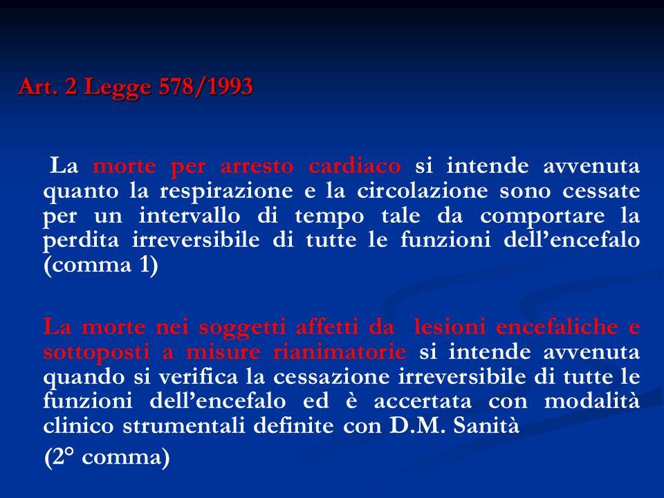 Art. 2 Legge 578/1993