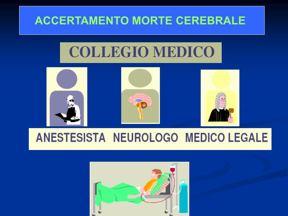 ACCERTAMENTO MORTE CEREBRALE