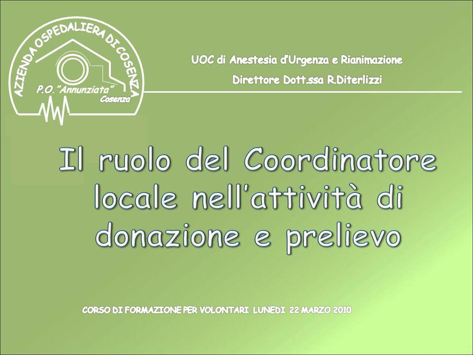 UOC di Anestesia d'Urgenza e Rianimazione