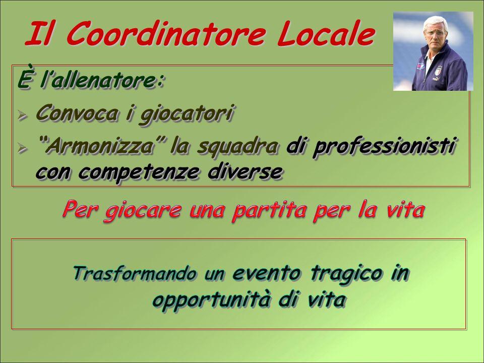 Il Coordinatore Locale