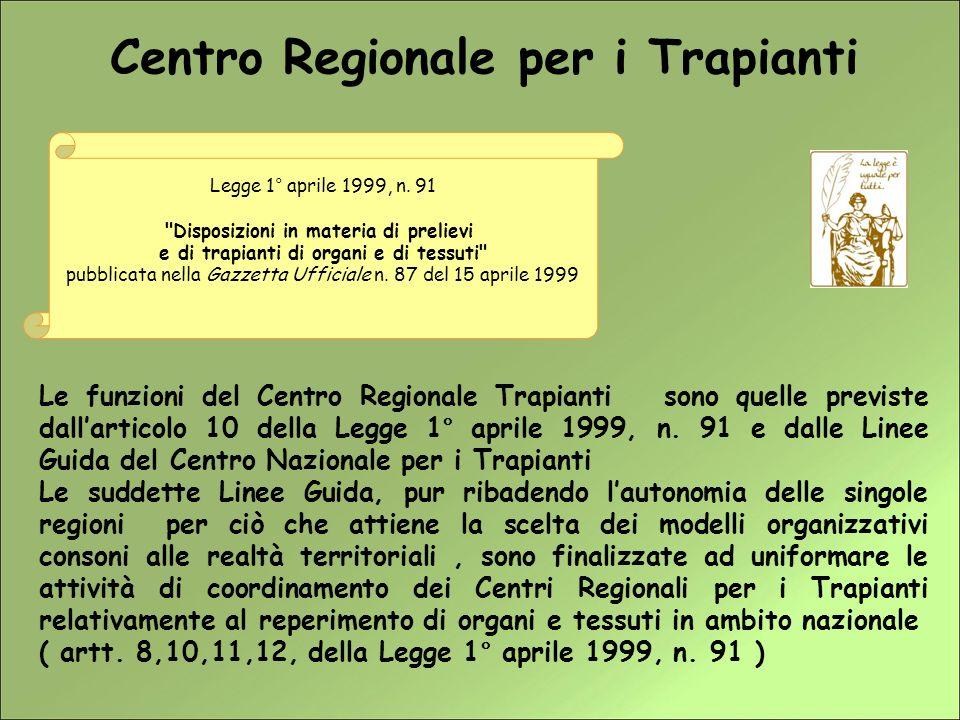 Centro Regionale per i Trapianti