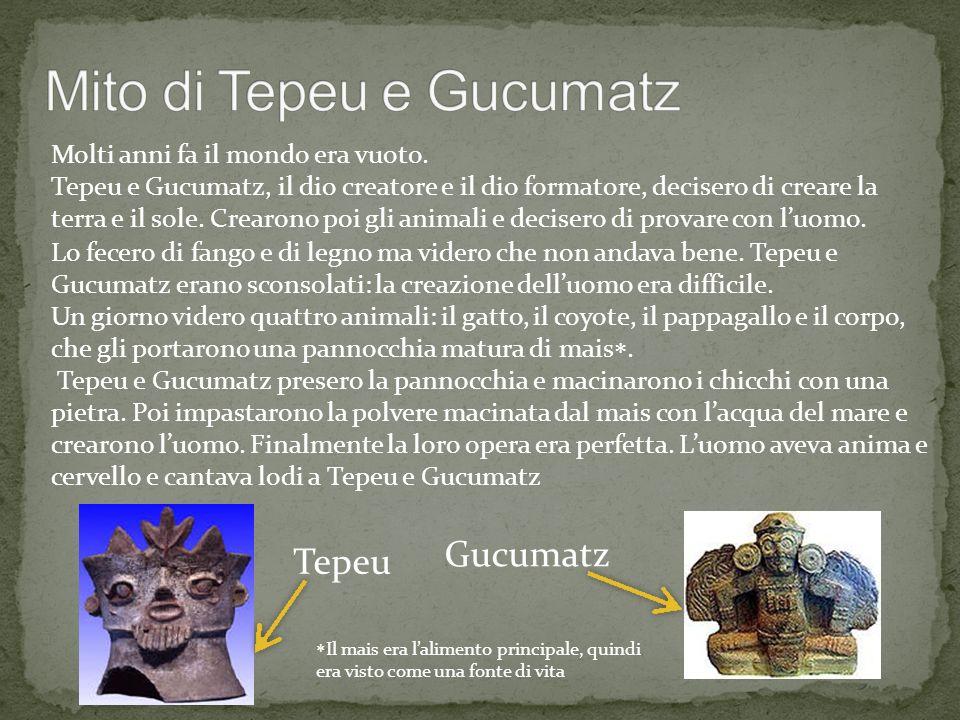 Mito di Tepeu e Gucumatz
