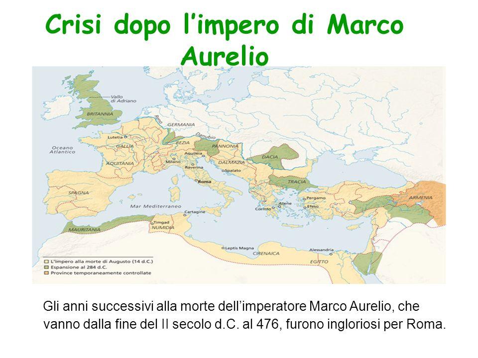 Crisi dopo l'impero di Marco Aurelio
